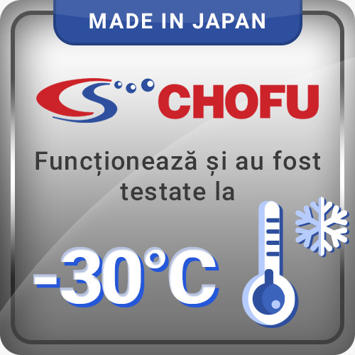Chofu functioneaza la -30°C
